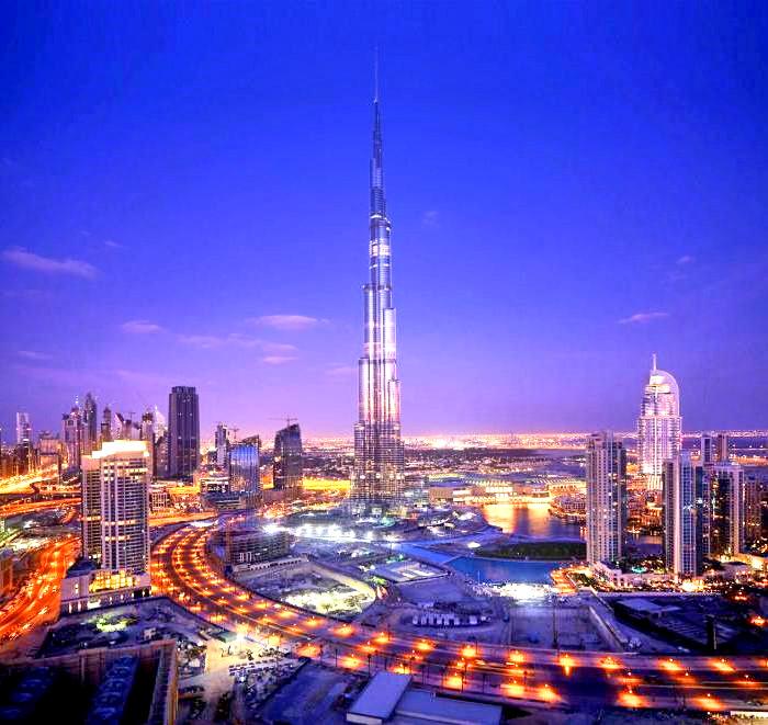 дороги Дубая
