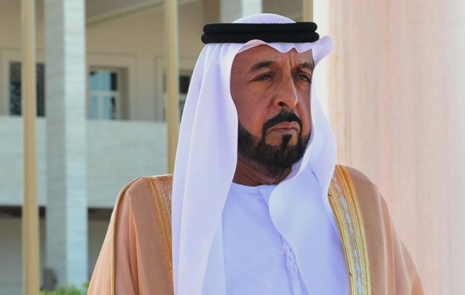 шейх Халифа, президент ОАЭ