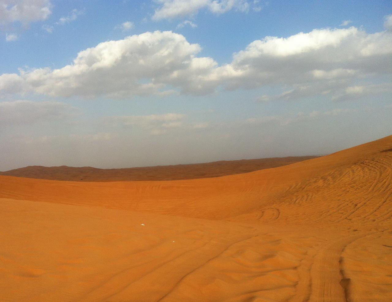 Пустыня в Дубае, ОАЭ