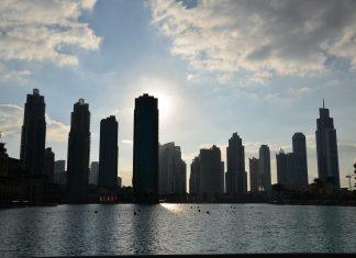 Вид города, Дубай
