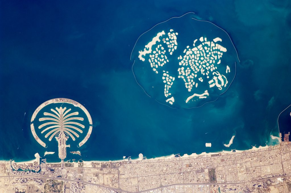 Архипелаг мир, Дубай