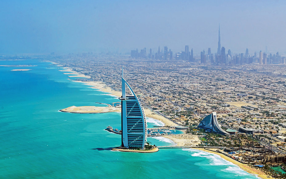 Дубай на майские