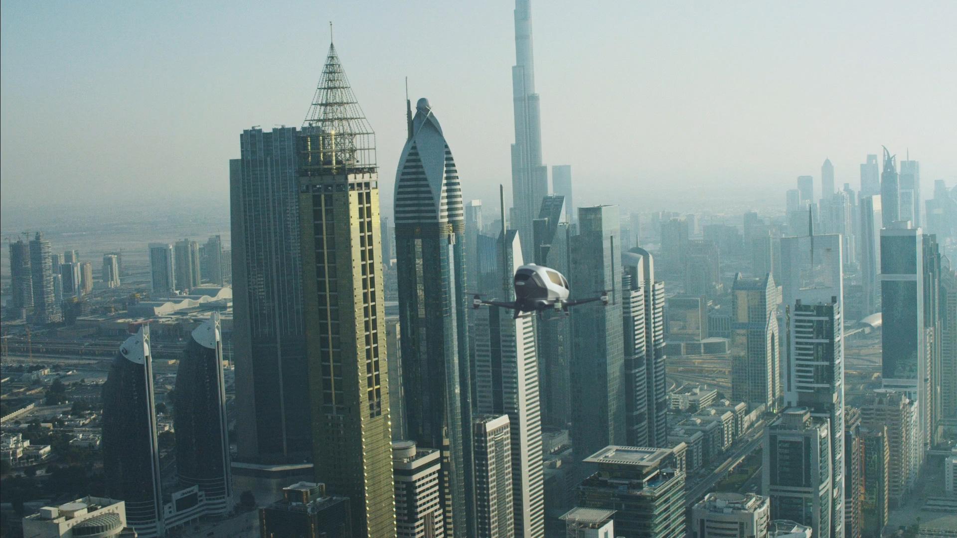 Ehang 184 в Дубае