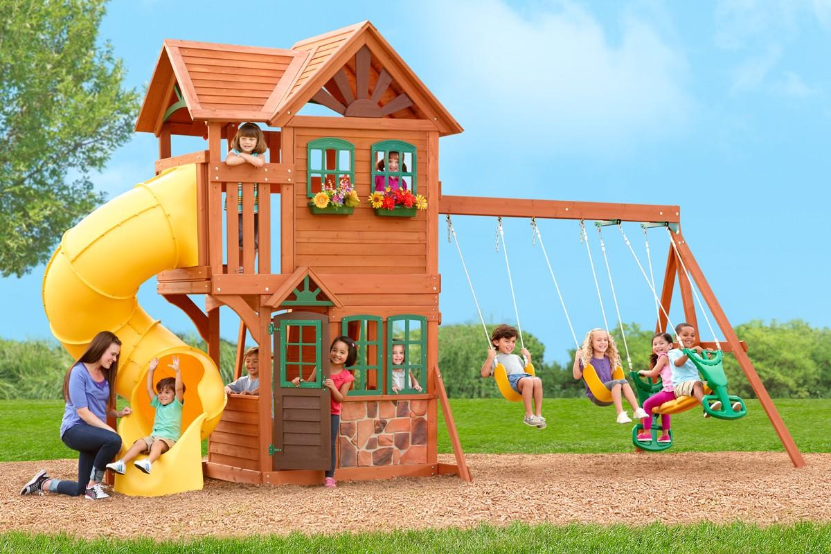 Детская площадка Франция