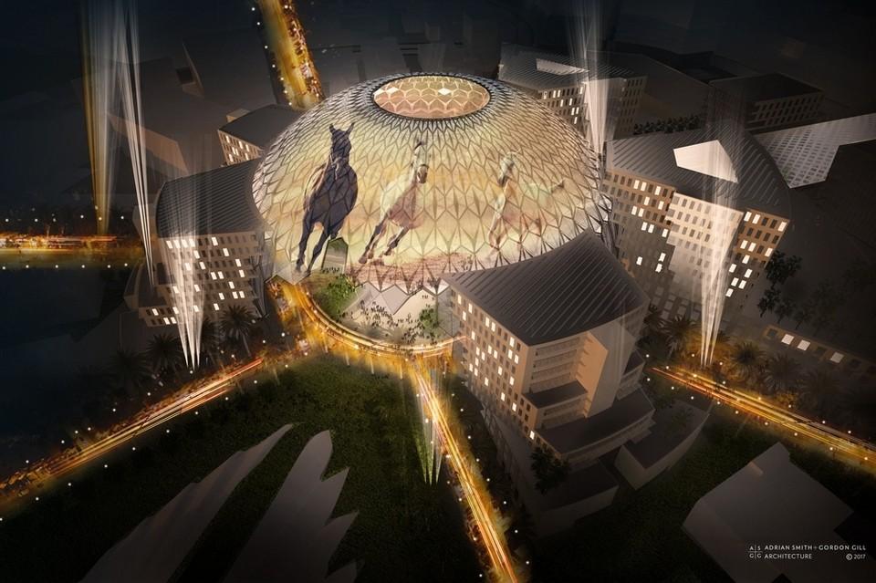 Видео: Представлен проект основной площадки для мероприятий Expo-2020 в Дубае