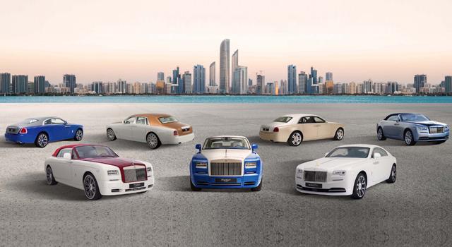Rolls-Royce представил коллекцию автомобилей в честь основателя ОАЭ