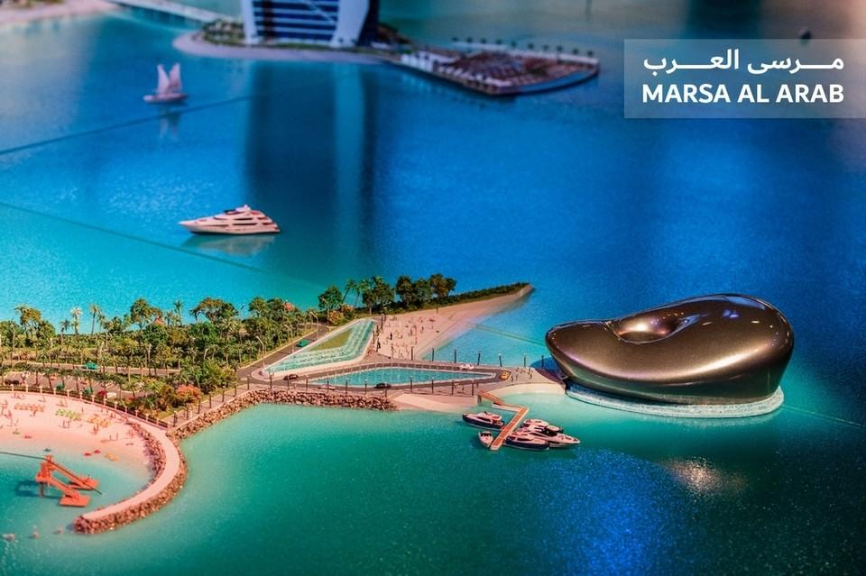 Видео: В Дубае представили масштабный проект с двумя искусственными островами