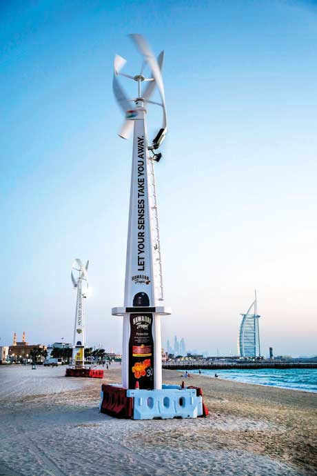 В Дубае появятся освещенные ночью пляжи