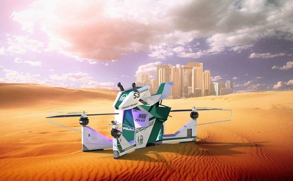 Ховербайки в Дубаи