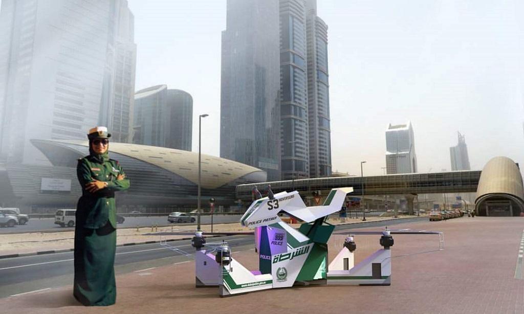 Дроны в полиции Дубаи