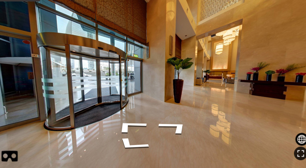 Представлены виртуальные туры по отелям Дубая