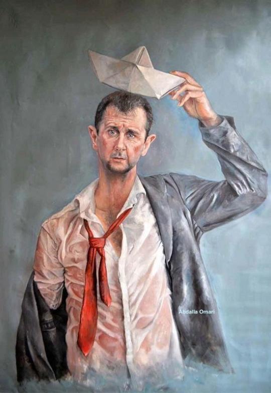 В Дубаи открылась выставка с портретом Путина, просящим милостыню