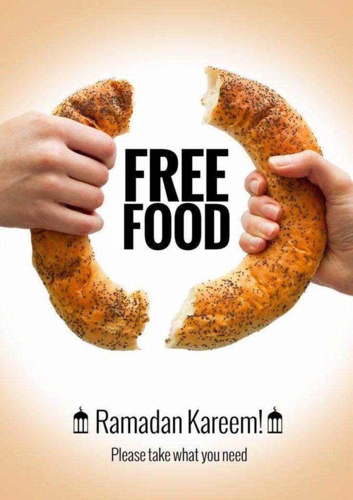 На улицах Дубая установили холодильники с бесплатной едой