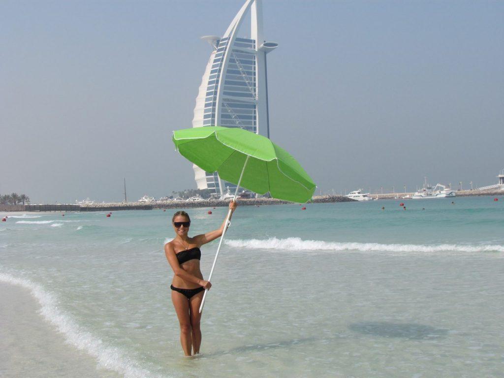 Дубай в июле