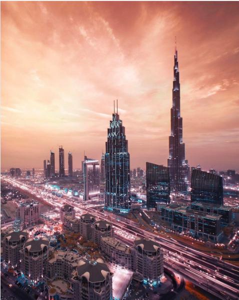 Наследный принц показал красоту Дубая на захватывающем фото