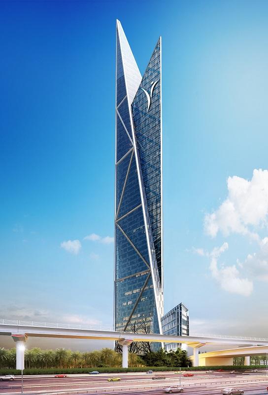 Возле главной магистрали Дубая возведут новый небоскреб