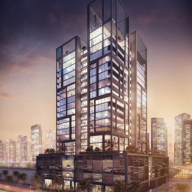 В центре Дубая началось строительство элитного жилого проекта
