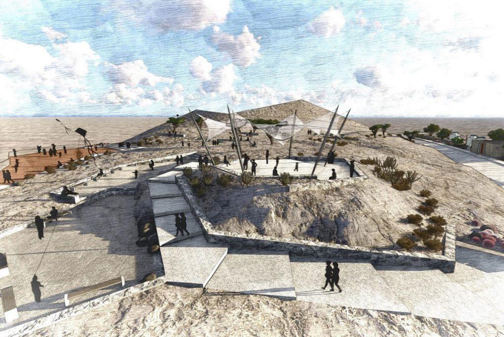 На самой высокой горе ОАЭ оборудуют обзорную площадку
