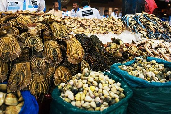 рыбный рынок Дейра