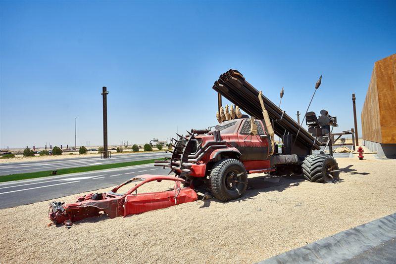 В Дубае открылся постапокалиптический проект