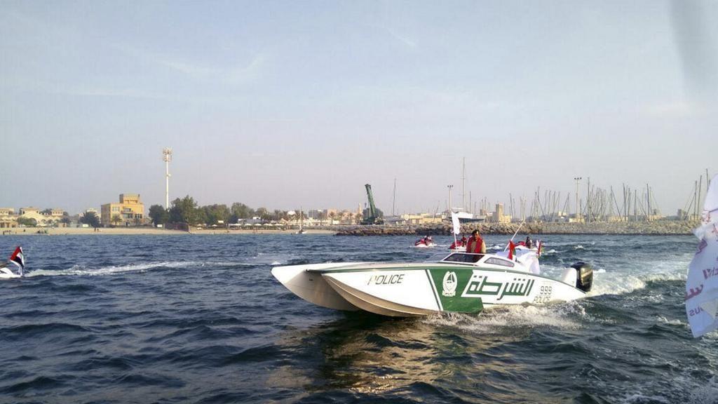 В Дубае показали впечатляющее водное оснащение гражданской обороны
