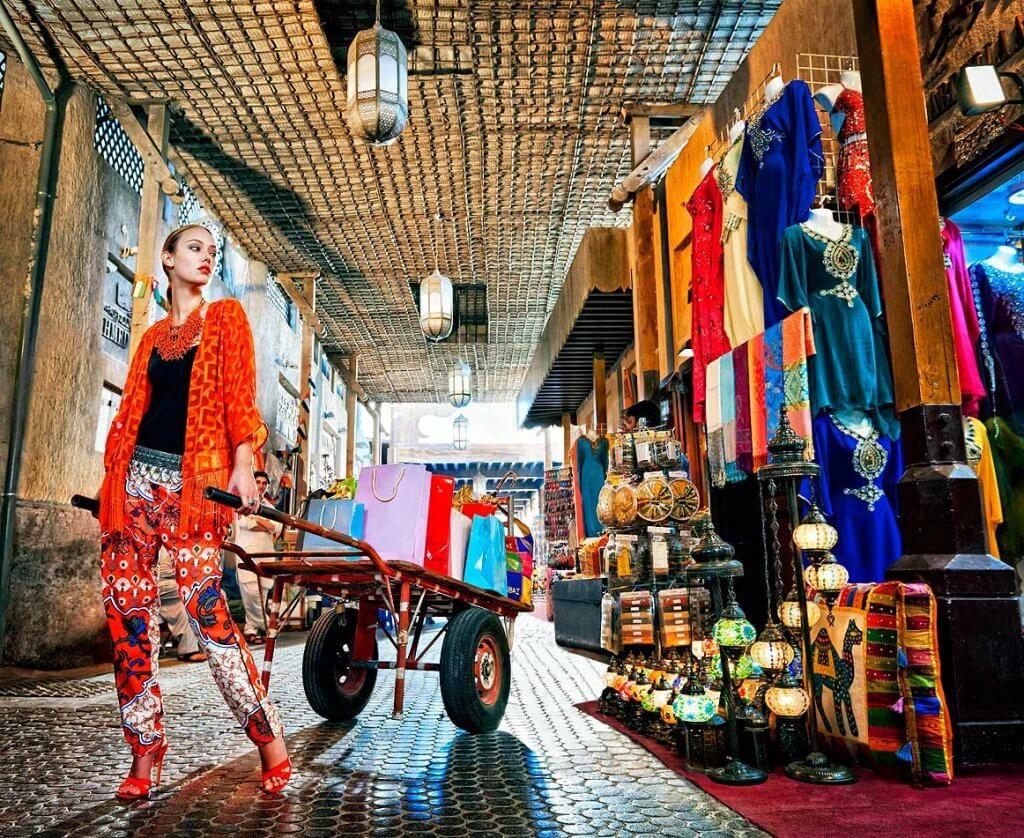 шопинг в ОАЭ
