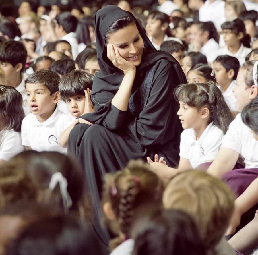 жена шейха Катара Шейха Моза