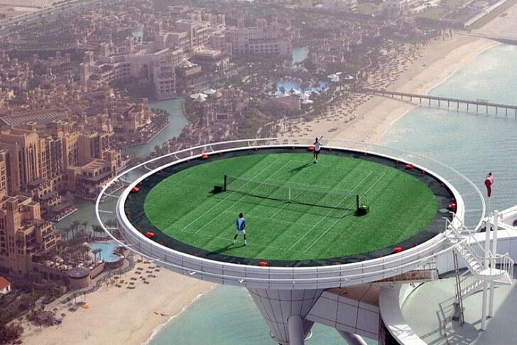 теннис в ОАЭ
