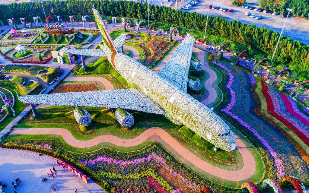 В Дубае снова открывается Miracle Garden