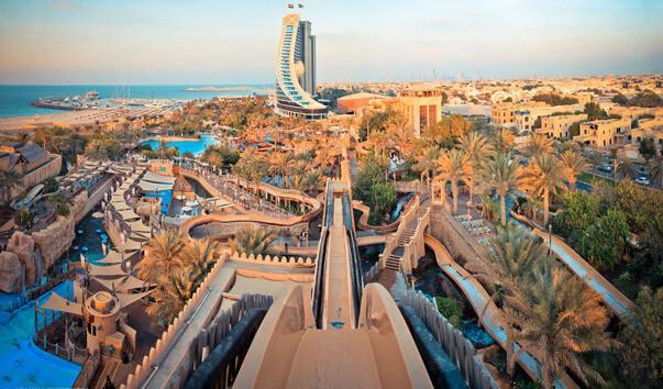 Аквапарк Wild Wadi в Дубае