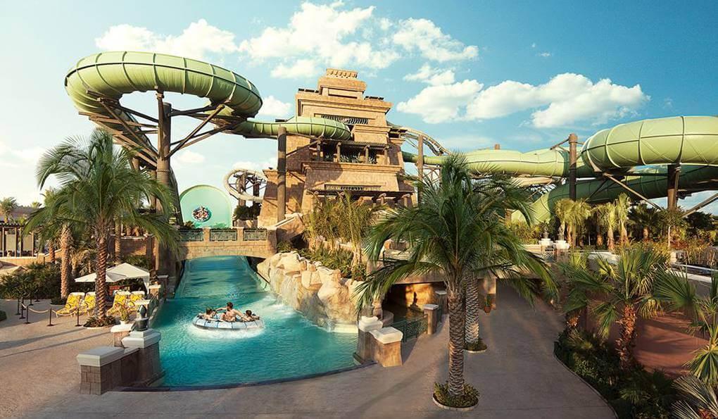 Aquaventure в Дубае