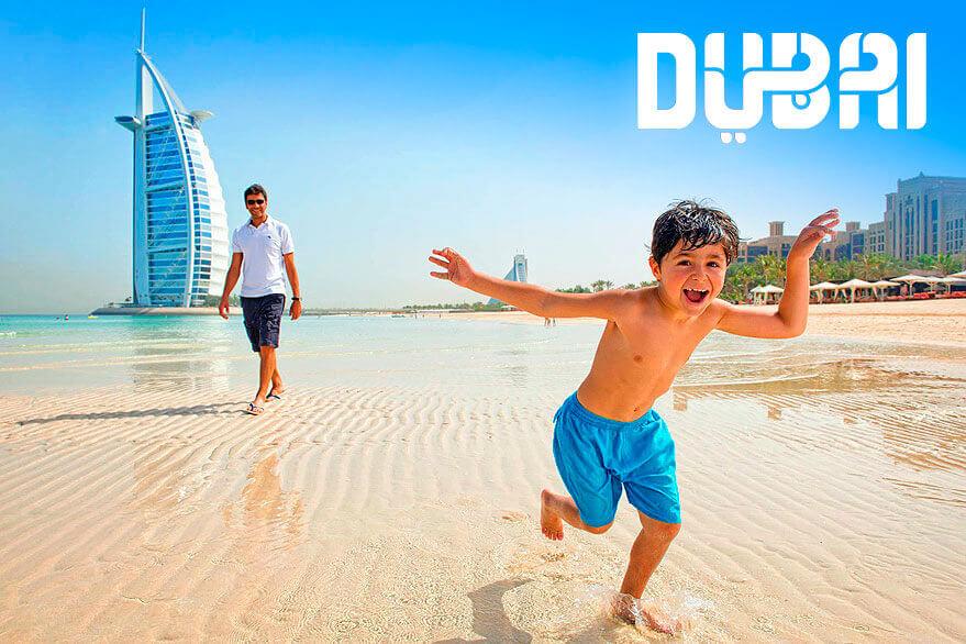 Отдых с детьми в Дубаи