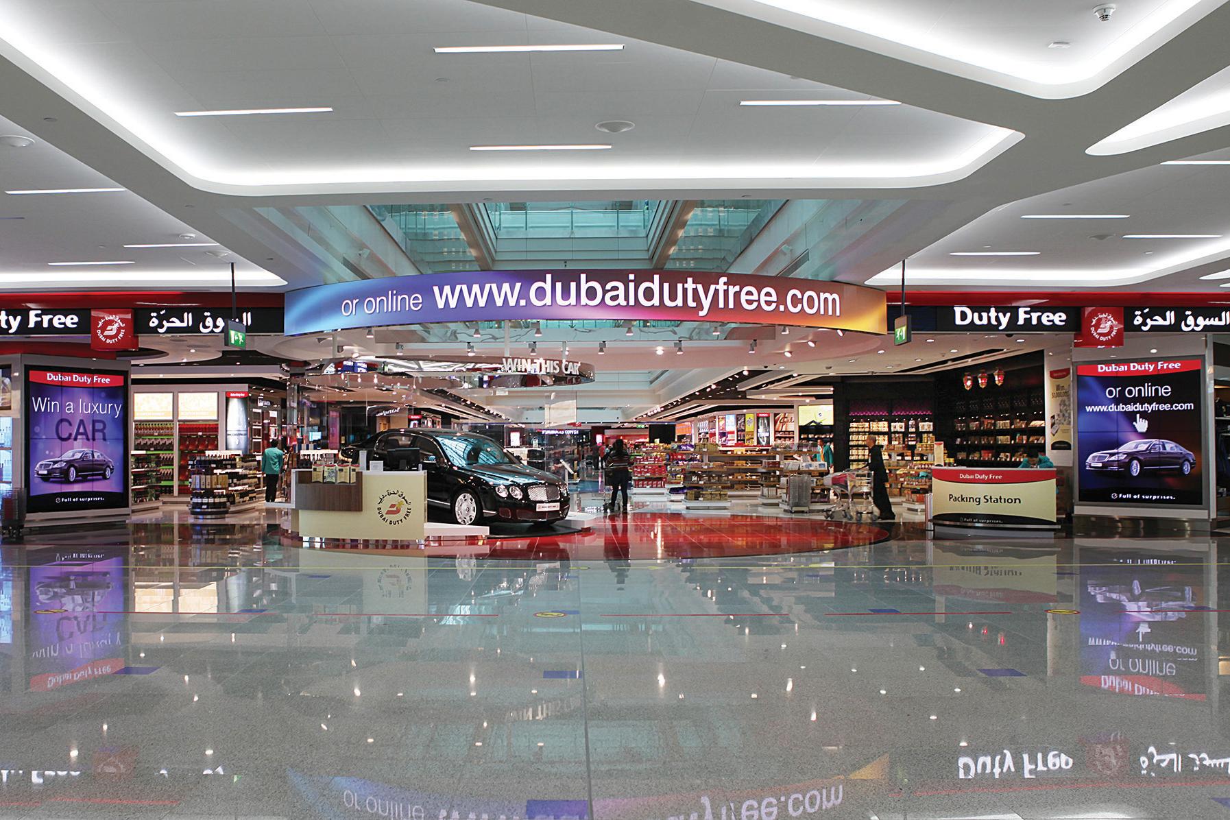 Магазины duty free в дубае купить виллы в испании