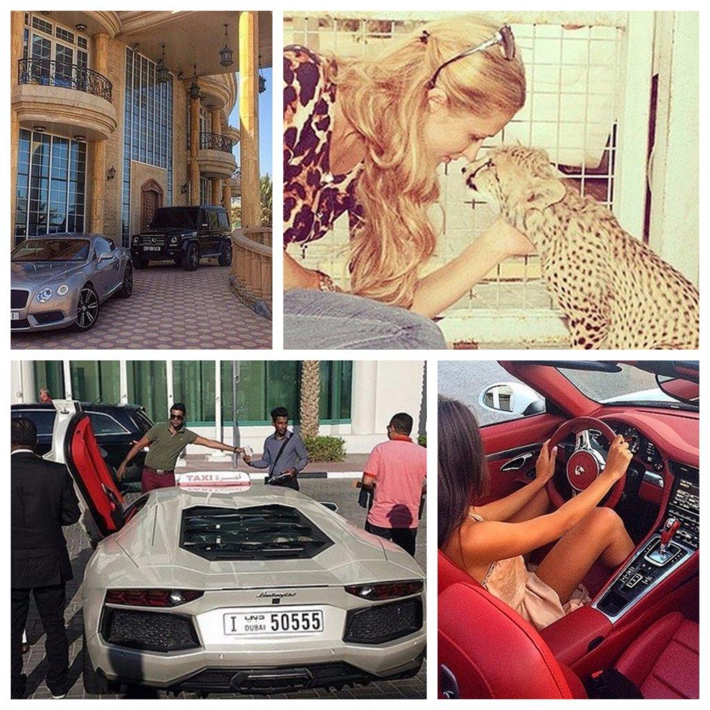 богатство Дубая