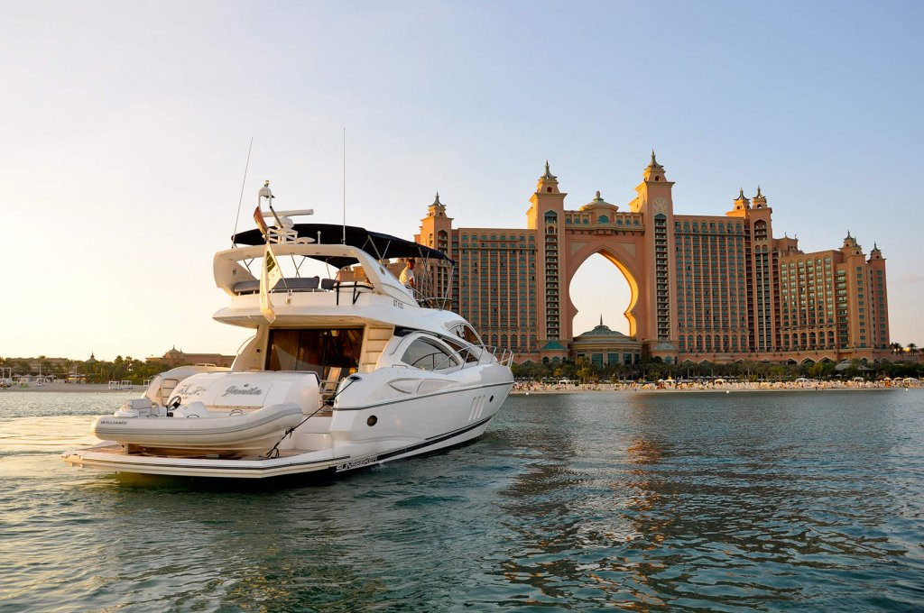 морские прогулки Дубай