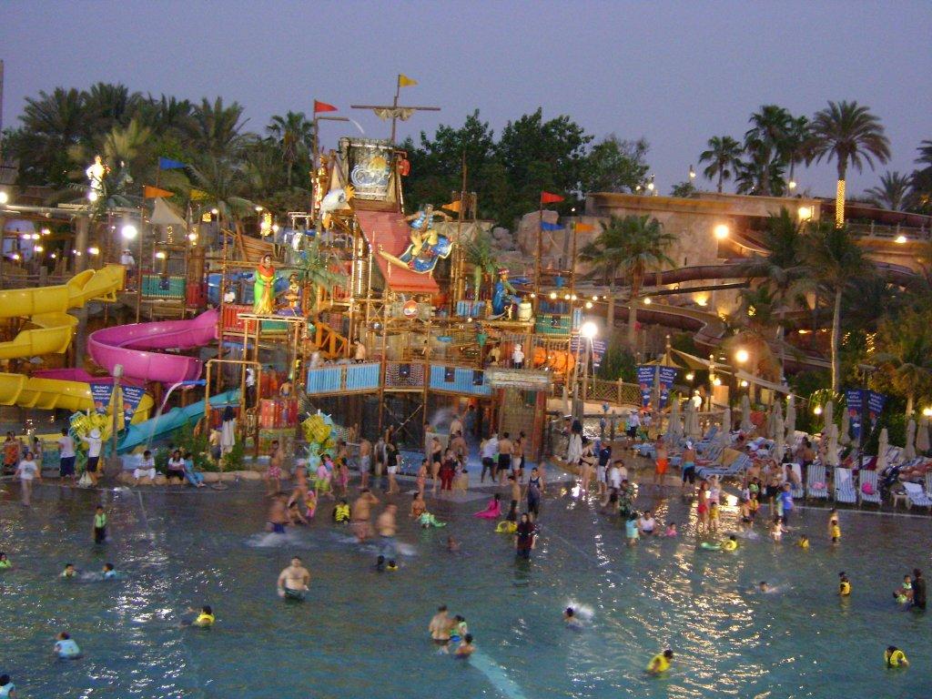 аквапарк в Дубае
