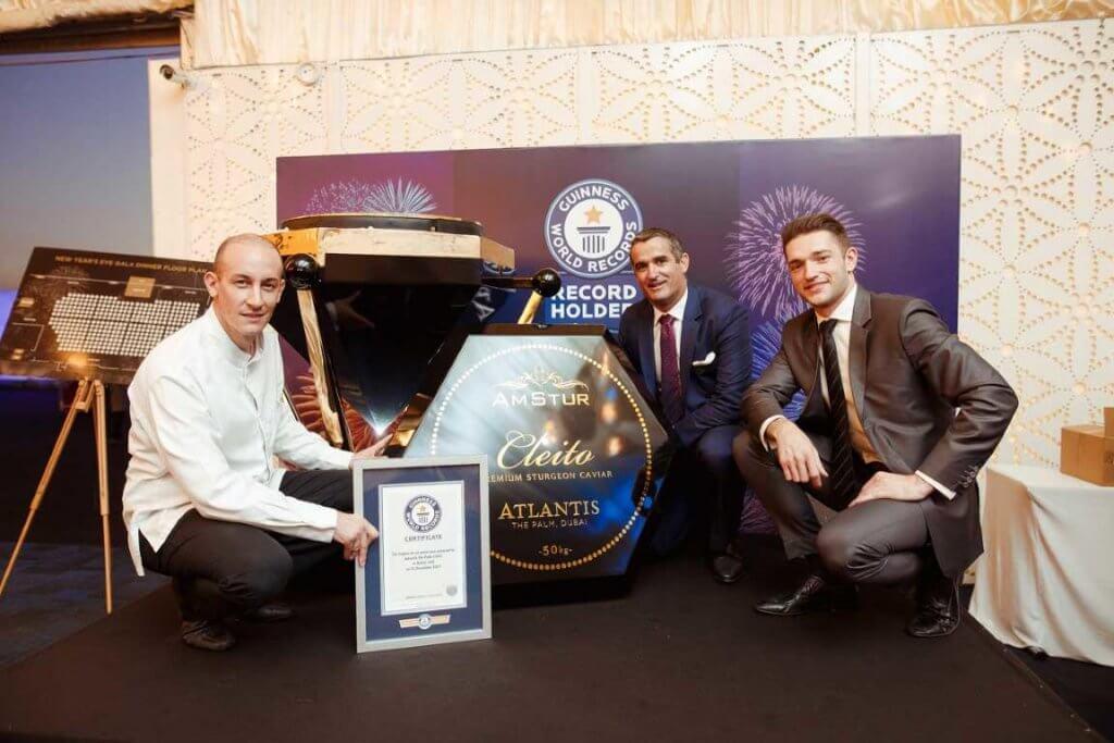 Курорт Дубая установил рекорд Гиннесса