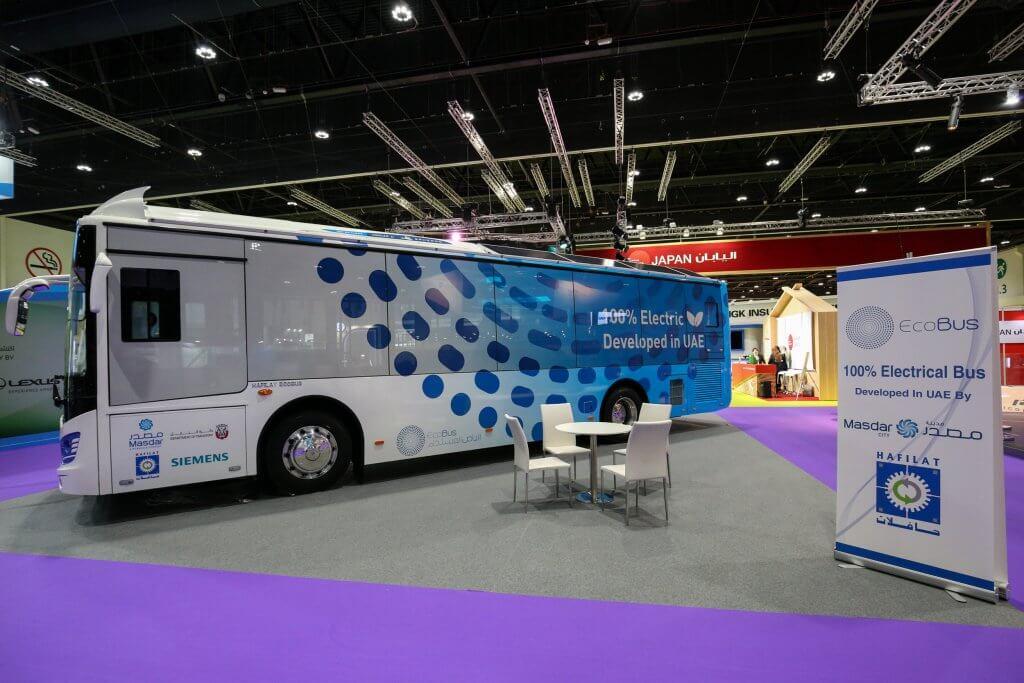В ОАЭ представили свой электрический автобус