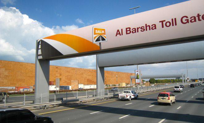 дорога в Дубае