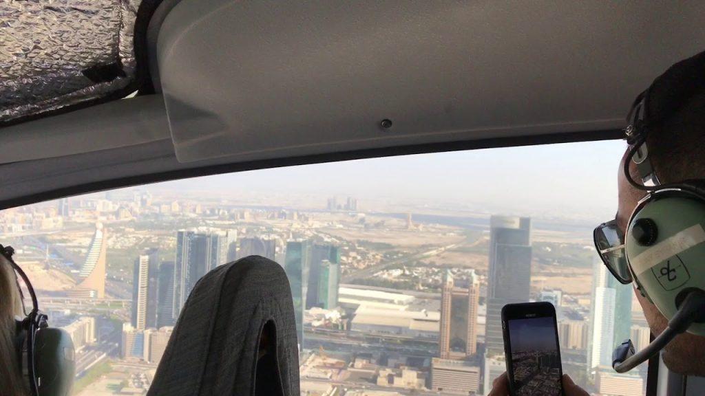 полеты на вертолете в Дубае