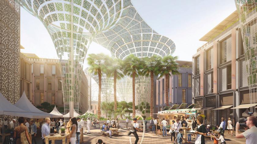 Город будущего в Дубаи 2020