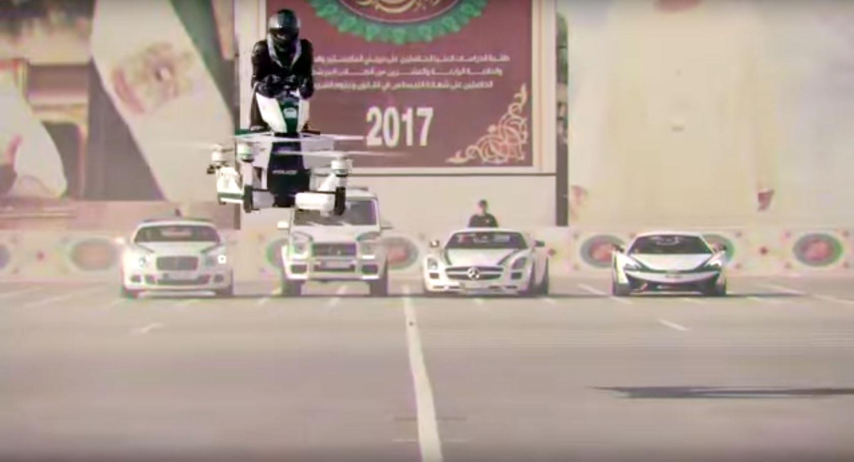Полиция Дубай hoverbikes