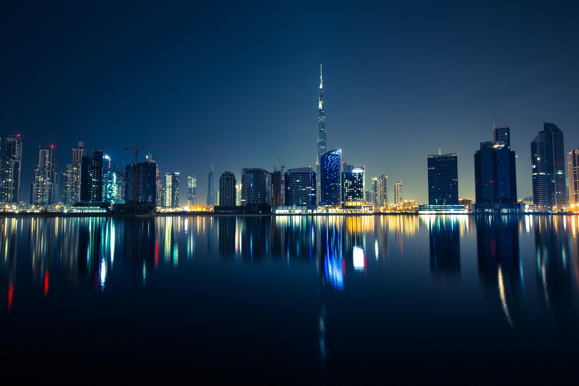 Ночной Дубай / фото