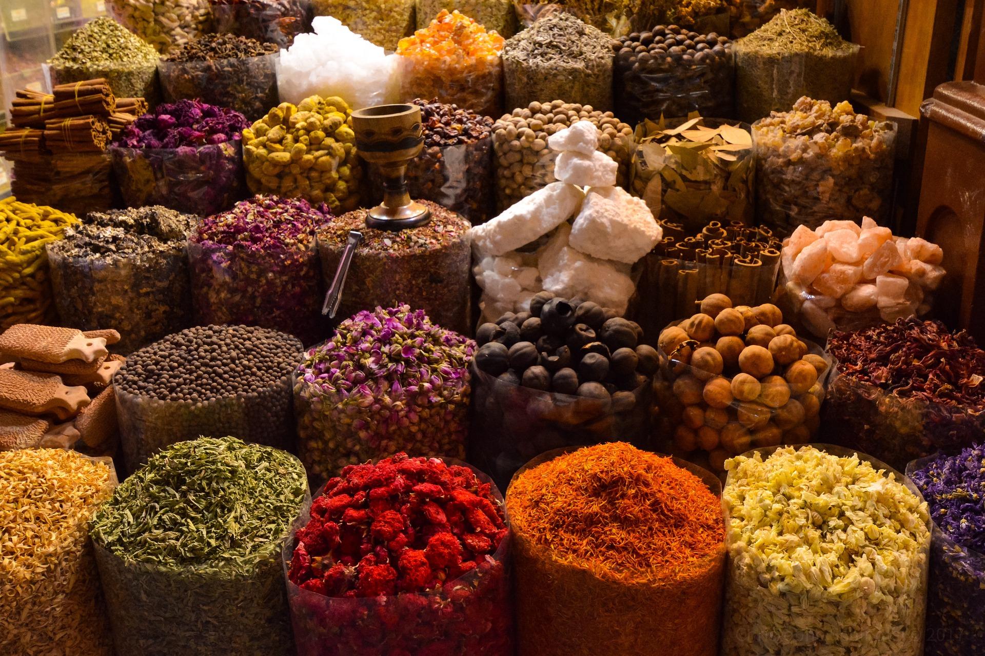 Рынок специй в Дубае (фото)